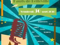 Invitation 2eme scène ouverte Hauts de Belleville